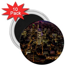 City Glass Architecture Windows 2.25  Magnets (10 pack)