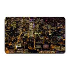 City Glass Architecture Windows Magnet (Rectangular)