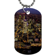 City Glass Architecture Windows Dog Tag (One Side)