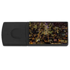 City Glass Architecture Windows USB Flash Drive Rectangular (1 GB)