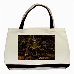 City Glass Architecture Windows Basic Tote Bag (Two Sides)