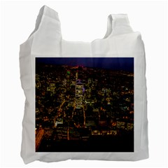 City Glass Architecture Windows Recycle Bag (One Side)