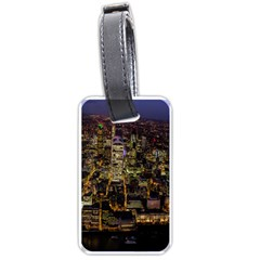 City Glass Architecture Windows Luggage Tags (One Side)
