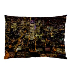 City Glass Architecture Windows Pillow Case (two Sides)
