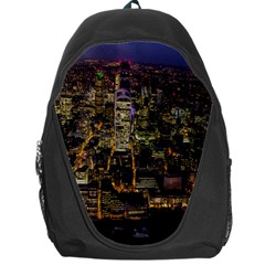 City Glass Architecture Windows Backpack Bag