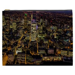 City Glass Architecture Windows Cosmetic Bag (XXXL)
