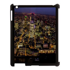 City Glass Architecture Windows Apple iPad 3/4 Case (Black)