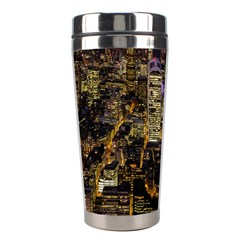 City Glass Architecture Windows Stainless Steel Travel Tumblers