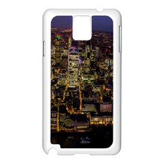 City Glass Architecture Windows Samsung Galaxy Note 3 N9005 Case (White)