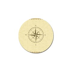Compass Vintage South West East Golf Ball Marker (4 pack)