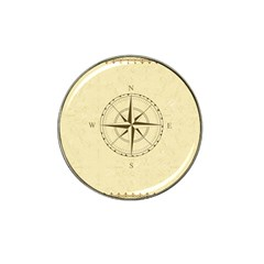 Compass Vintage South West East Hat Clip Ball Marker