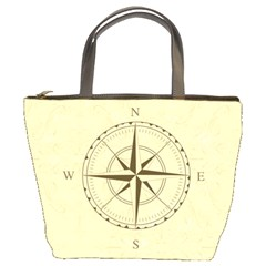 Compass Vintage South West East Bucket Bags