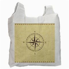 Compass Vintage South West East Recycle Bag (one Side)