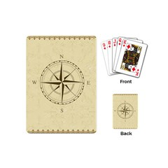 Compass Vintage South West East Playing Cards (Mini)