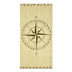 Compass Vintage South West East Shower Curtain 36  x 72  (Stall)
