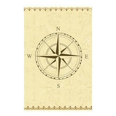 Compass Vintage South West East Shower Curtain 48  x 72  (Small)