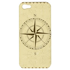 Compass Vintage South West East Apple Iphone 5 Hardshell Case