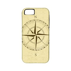 Compass Vintage South West East Apple iPhone 5 Classic Hardshell Case (PC+Silicone)