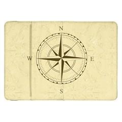 Compass Vintage South West East Samsung Galaxy Tab 8.9  P7300 Flip Case