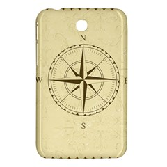 Compass Vintage South West East Samsung Galaxy Tab 3 (7 ) P3200 Hardshell Case