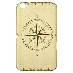 Compass Vintage South West East Samsung Galaxy Tab 3 (8 ) T3100 Hardshell Case