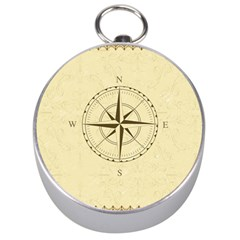 Compass Vintage South West East Silver Compasses