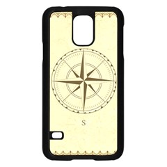 Compass Vintage South West East Samsung Galaxy S5 Case (black)