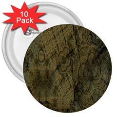 Complexity 3  Buttons (10 pack)