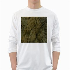 Complexity White Long Sleeve T Shirts