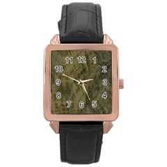 Complexity Rose Gold Leather Watch