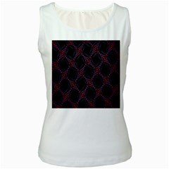 Computer Graphics Webmaster Novelty Women s White Tank Top