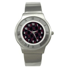 Computer Graphics Webmaster Novelty Stainless Steel Watch