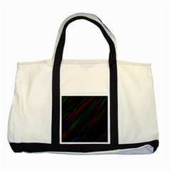 Dark Background Pattern Two Tone Tote Bag