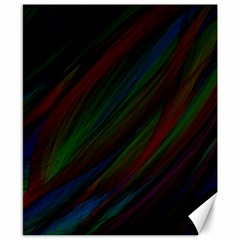 Dark Background Pattern Canvas 8  x 10