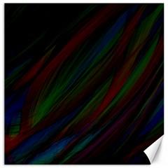 Dark Background Pattern Canvas 16  x 16