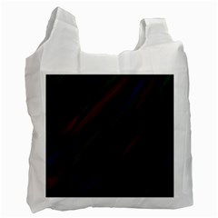 Dark Background Pattern Recycle Bag (One Side)