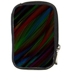 Dark Background Pattern Compact Camera Cases