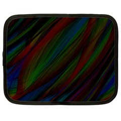 Dark Background Pattern Netbook Case (XXL)