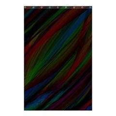 Dark Background Pattern Shower Curtain 48  x 72  (Small)