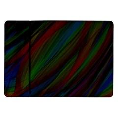 Dark Background Pattern Samsung Galaxy Tab 10.1  P7500 Flip Case