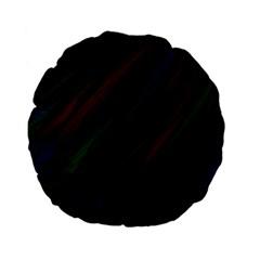 Dark Background Pattern Standard 15  Premium Flano Round Cushions