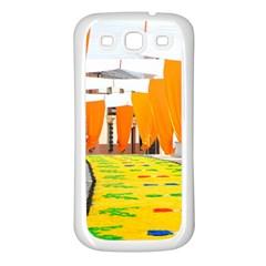 Corpus Torrenueva Procession Samsung Galaxy S3 Back Case (White)