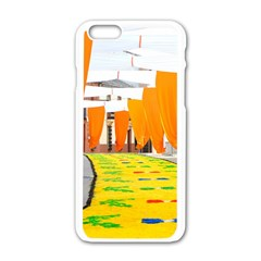 Corpus Torrenueva Procession Apple iPhone 6/6S White Enamel Case