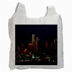 Dallas Texas Skyline Dusk Recycle Bag (Two Side)
