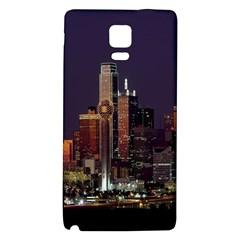 Dallas Texas Skyline Dusk Galaxy Note 4 Back Case