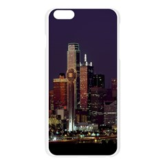 Dallas Texas Skyline Dusk Apple Seamless iPhone 6 Plus/6S Plus Case (Transparent)