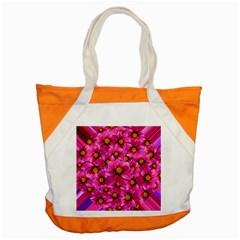 Dahlia Flowers Pink Garden Plant Accent Tote Bag
