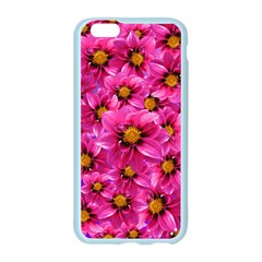 Dahlia Flowers Pink Garden Plant Apple Seamless iPhone 6/6S Case (Color)