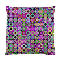 Design Circles Circular Background Standard Cushion Case (one Side)