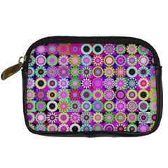 Design Circles Circular Background Digital Camera Cases